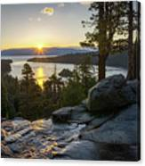 Sunrise At Emerald Bay In Lake Tahoe Canvas Print