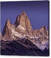 Sunrise At Fitz Roy Patagonia 7 Canvas Print