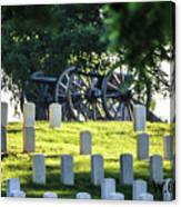 Sunrise At Gettysburg National Cemetery Canvas Print