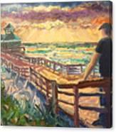 Sunrise at Juno Beach Canvas Print
