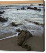 Sunrise At Laguna Beach Canvas Print