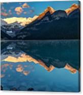 Sunrise At Lake Louise, Banff National Park, Alberta, Canada Canvas Print