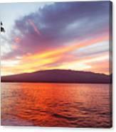 Sunrise At Ma'alaea Maui Canvas Print