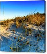 Dawn At Manasota Beach Canvas Print
