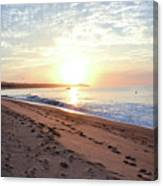 Sunrise At Medano Canvas Print