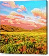 Sunrise At Montana De Oro Canvas Print