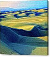 Sunrise At Oceano Sand Dunes  Canvas Print