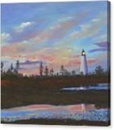 Sunrise At Point Prim Canvas Print