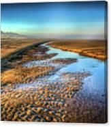 Sunrise At Rockaway Beach Oregon Canvas Print