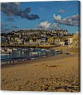 Sunrise At St Ives Canvas Print