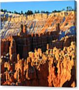 Sunrise At Sunset Point In Bryce Canyon National Park Canvas Print