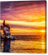 Sunrise At The Arch Canvas Print