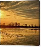 Sunrise At The Big Marsh Canvas Print