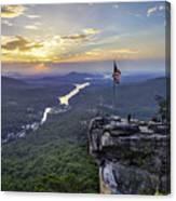 Sunrise At The Rock Canvas Print