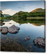 Sunrise at Ullswater, Lake District, North West England Canvas Print