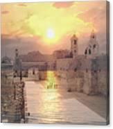 Sunrise Bethlehem Canvas Print