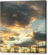 Sunrise Cloudscape Canvas Print