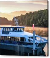Sunrise Cruise To Doubtful Sound Canvas Print