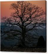 Sunrise From Bolton Ma Canvas Print