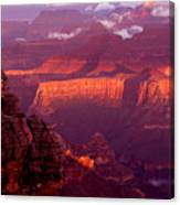Sunrise From Mather Point Canvas Print