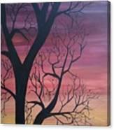 Sunrise From My Window Canvas Print