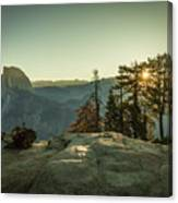 Sunrise Glacier Point Canvas Print