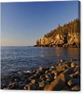Sunrise In Acadia Canvas Print