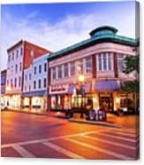 Sunrise In Annapolis Canvas Print
