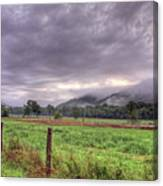 Sunrise In Boxley Valley Canvas Print