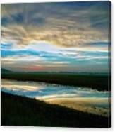 Sunrise In Doniphan Kansas Canvas Print