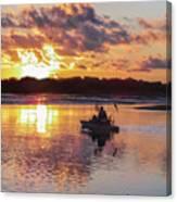 Sunrise In Murrells Inlet, Sc Canvas Print