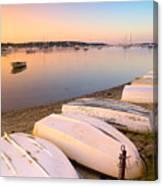 Sunrise In Osterville Cape Cod Massachusetts Canvas Print