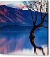 Sunrise In Slovenia Canvas Print