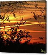 Sunrise In Tennessee Canvas Print