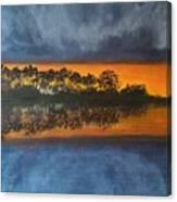 Sunrise In The Amazonas Canvas Print