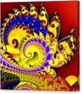 Sunrise In The Carnival Universe Canvas Print