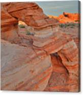 Sunrise In Valley Of Fire State Park Canvas Print