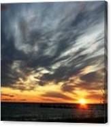 Sunrise Lake Huron 3 Canvas Print
