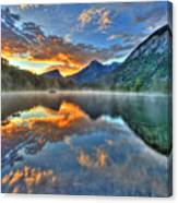 Sunrise Lake Canvas Print