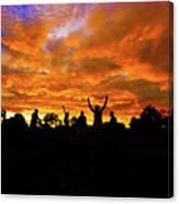 Sunrise Landscape In Tanzania Canvas Print