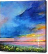 Sunrise Magic Canvas Print