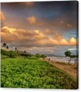 Sunrise Nukolii Beach Kauai Hawaii 7r2_dsc4068_01082018 Canvas Print