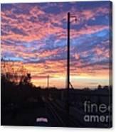 Sunrise Nv15-02 Canvas Print