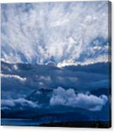 Sunrise On Lake Annecy Canvas Print