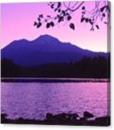 Sunrise On Lake Shasta Canvas Print
