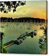 Sunrise On Mallet's Bay Canvas Print