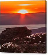 Sunrise On Mount Clay 2 Canvas Print