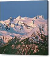 1m4120-sunrise On Mt. Olympus  Canvas Print