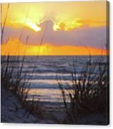 Sunrise On The Atlantic Canvas Print
