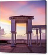 Sunrise On The Caribbean Canvas Print